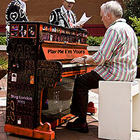 Play Me, I'm Yours…Street Pianos